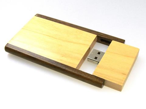 ขายส่งแฟลชไดร์ฟ รูปไม้กระดาน แบบฝาสไลด์เท่ๆ  สั่งทำ flash drive ราคาส่ง