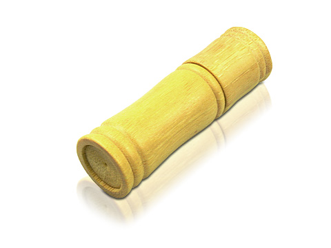 แฟลชไดร์ฟไม้ไผ่ สั่งทำ ทรัมไดร์ไม้ทรงกลม รับผลิต แฮนดี้ไดร์ฟทรงกระบอก