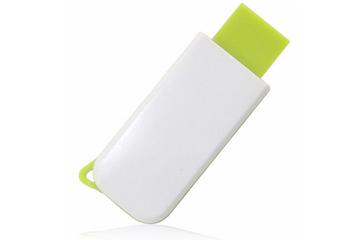 สั่งทำ แฟลชไดร์ฟแบบบาง เคสพลาสติก โดดเด่นด้วยสีสัน ขนาดกะทัดรัด ราคาถูก