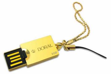สั่งผลิต แฟลชไดร์ฟแบบล็อกเก็ต ขนาดเล็ก ติดโลโก้ ดีไซน์สวยงาม พร้อมสร้อยคล้อง