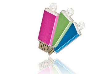 รับทำ แฟลชไดร์ฟพรีเมี่ยมแบบบาง แฟลชไดรฟ์พลาสติกผิวมัน พร้อมสกรีน เลือกสีได้