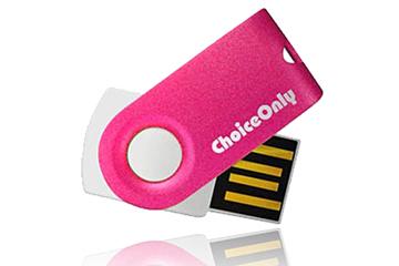 รับทำ Slim(บาง) USB Flash Drive แฟลชไดร์ฟมีสไตล์ กะทัดรัด ใช้งานแบบหมุนเปิด