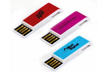 แฟลชไดร์ฟแบบบาง เน้นเรียบง่าย ดีไซน์สวย สไลด์ง่าย พร้อมสกรีนโลโก้ เท่ๆ 3