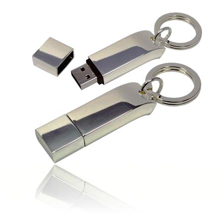 รับทำ รับผลิต Metal Key Ring Design Flash Drive และขายส่งแฟลชไดร์ฟโลหะ