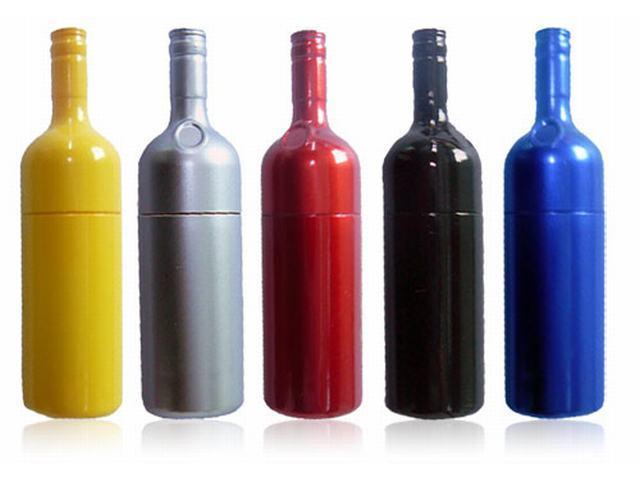 รับทำ ผลิต แฟลชไดร์ฟขวดน้ำ ทรัมไดร์ขวดน้ำอัดลม แฟนซี วัสดุพลาสติก เลือกสีได้