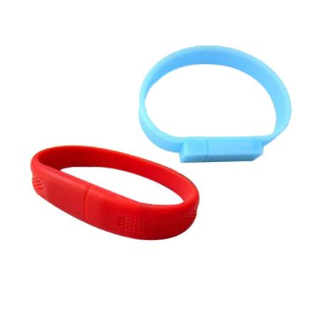 ขายส่งแฟลชไดร์ฟสายข้อมือ ผลิต Bracelet USB Flash Drive สั่งทำ ริสแบนด์
