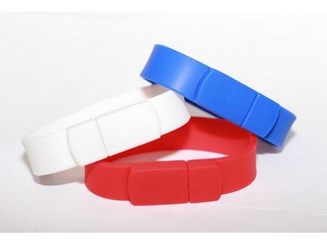 สั่งทำ ขายส่งแฟลชไดร์ฟสายข้อมือ ผลิต Bracelet USB Flash Drive สั่งทำ ริสแบนด์
