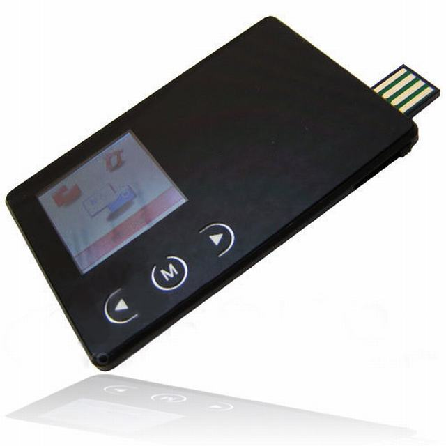 รับผลิต MP3 Card USB Flash Drive เครื่องเล่นเพลงภายในตัว มีปุ่มกดพร้อมจอภาพ