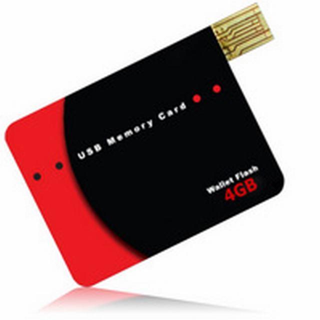 รับผลิต แฟลชไดร์ฟนามบัตร credit card flash drive ราคาส่ง พร้อมสกรีนหน้าหลังเท่ๆ