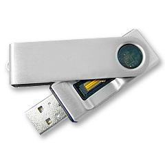 Fingerprint USB Flash Drive แฟลชไดร์ฟที่มาพร้อมกับระบบสแกนลายนิ้วมือ