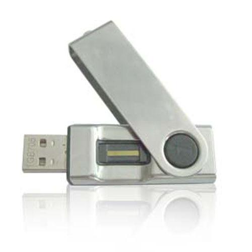 รับผลิต Fingerprint USB Flash Drive แฟลชไดร์ฟที่มาพร้อมกับระบบสแกนลายนิ้วมือ