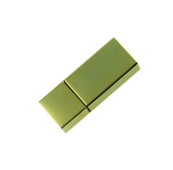 แฟลชไดร์ฟพรีเมี่ยมแบบเหล็กโลหะ สั่งทำ แฟลชไดร์ฟ สีทอง พร้อมสกรีนโลโก้