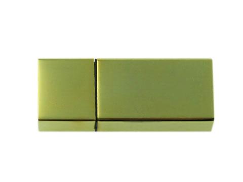สั่งผลิต แฟลชไดร์ฟพรีเมี่ยมแบบเหล็กโลหะ สั่งทำ แฟลชไดร์ฟ สีทอง พร้อมสกรีนโลโก้