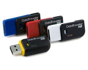 สั่งผลิต Kingston DataTraveler 112 USB Flash Drive เราเป็นตัวแทนจำหน่ายทัมไดร์
