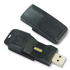 แฟลชไดร์ฟพรีเมี่ยม(premium flash drive) มาพร้อมกับระบบสแกนลายนิ้วมือ