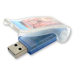 Plastic USB Flash Drive