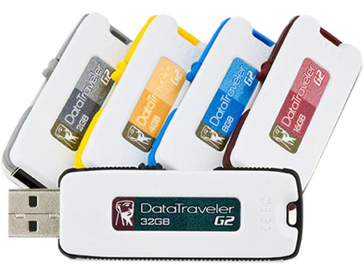Kingston DataTraveler G2 (Generation 2) Custom USB Flash Drives