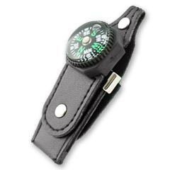สั่งทำ รับผลิตแฟลชไดร์ฟพวงกุญแจหนังราคาส่ง ล็อคด้วยกระดุมติด มาพร้อมเข็มทิศ