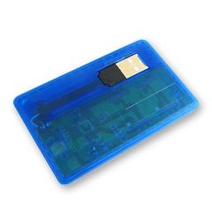 สั่งทำ แฟลชไดร์ฟนามบัตร Credit Card Handy Drive รับสกรีนแฮนดี้ไดร์ฟราคาถูก
