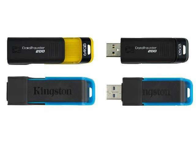 Kingston DataTraveler 200 Flash Drives เราเป็นตัวแทนจำหน่ายแฟลชไดร์ฟ