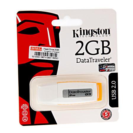 ขายส่ง คิงส์ตันแฟลชไดร์ฟ รุ่น DT-G3 และรับสกรีนโลโก้ บน Flash Drives 1
