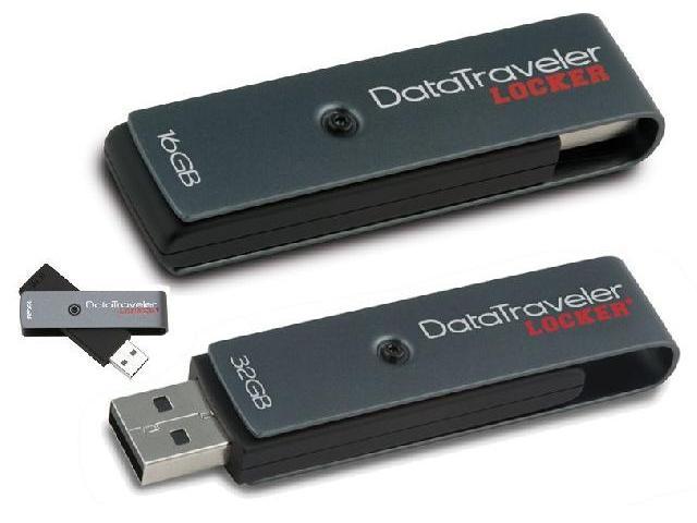 ขายคิงส์ตันแฟลชไดร์ฟ DataTraveler Locker Plus (Password Protection)