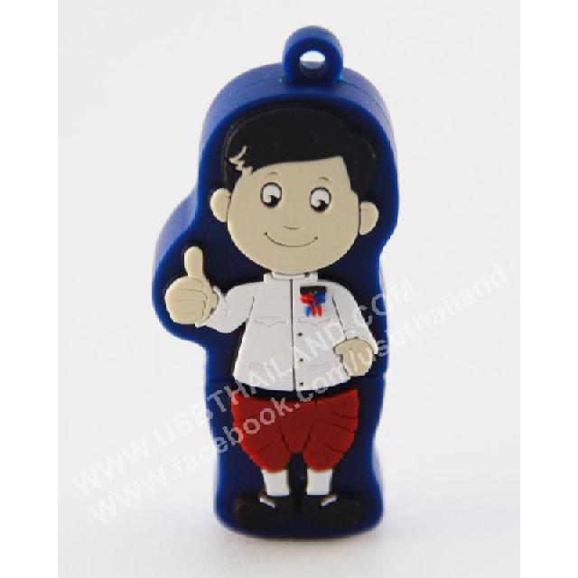 รับผลิต แฟลชโดร์ฟ ยางหยอด รูปตุ๊กตา แบบต่างๆ ติดโลโก้บริษัท ราคาโรงงาน
