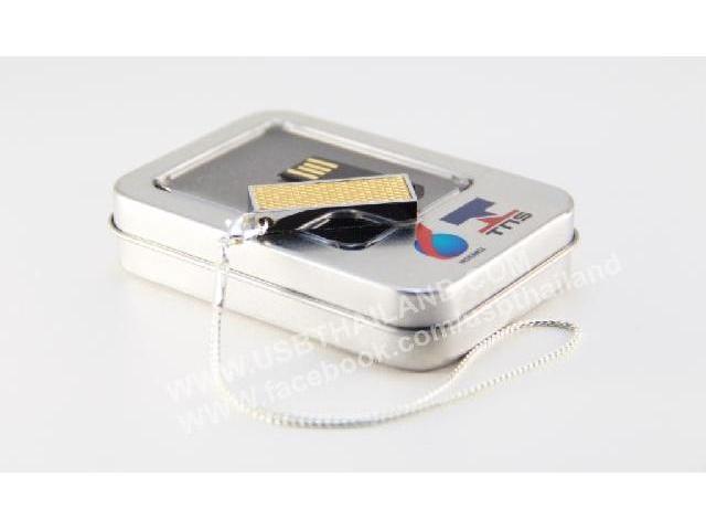 รับผลิต ของพรีเมี่ยม พวงกุญแจแฟลชไดร์ฟ สกรีนโลโก้ กับกล่องอะลูมิเนียม ราคาถูก