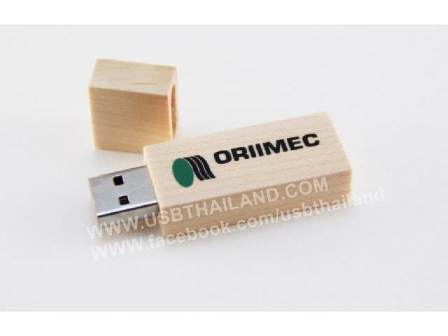 รับผลิต USB ไม้สลักชื่อ แฟลชไดร์ฟพร้อมสกรีนโลโก้ รับประกัน 5 ปี ราคาถูก