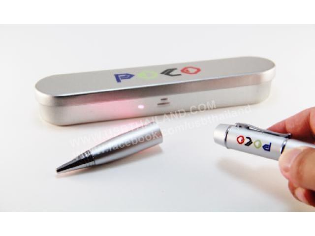 โรงงานผลิตและขายส่งแฟลชไดร์ฟปากกา พร้อมกล่องใส่ ของขวัญ ราคาส่ง