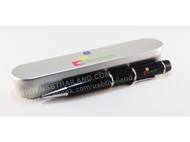 ขายส่ง แฟลชไดร์ฟปากกา premium สั่งทำ พร้อมกล่องใส่ สกรีนโลโก้ ราคาส่ง