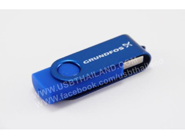 แฟลชไดร์ฟ สีน้ำเงิน รับผลิต ทรัมไดร์ฟ พลาสติก กล่องกำมะหยี่ ราคาถูก