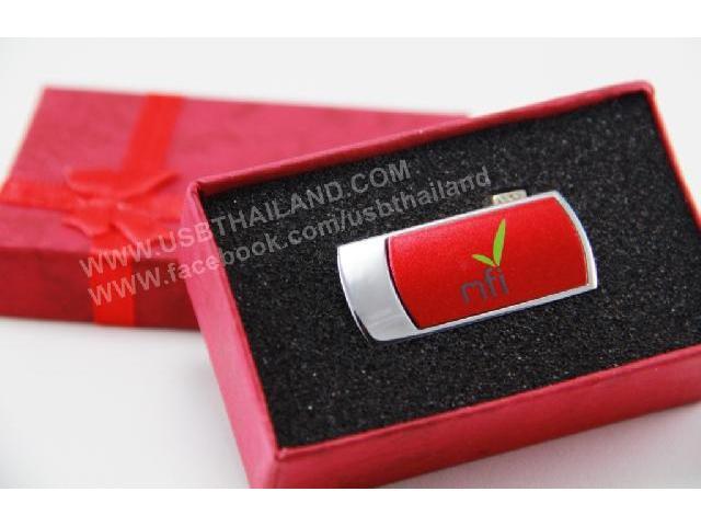 รับทำ ผลิตแฟลชไดร์ฟสีแดงพร้อมกล่องของขวัญ ขาย handy drive รับประกัน 5 ปี