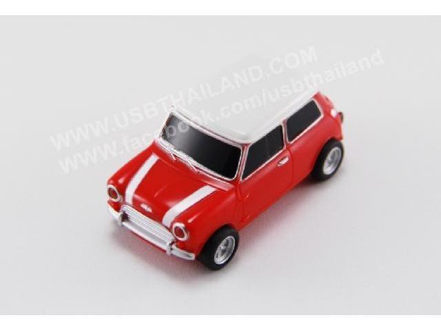 แฟลชไดร์ฟยางหยอด รูปรถ 3 มิติ สีแดง รับผลิต ทรัมไดร์ รับประกัน 5 ปี