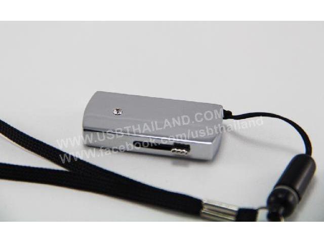 รับผลิต แฟลชไดร์ฟ พลาสติก สีบรอนซ์ สกรีนโลโก้ ผลิต Thumb Drive มีสายคล้อง