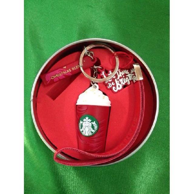 พวงกุญแจ ถ้วยกาแฟ Starbucks (แฟลชไดร์ฟพร้อมกล่องสกรีนโลโก้) ราคาส่ง