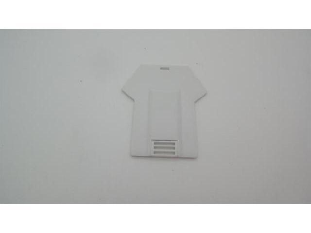 แฟลชไดร์ฟรูปเสื้อ ขาย flash drive การ์ดแบบบาง เคสพลาสติกสีขาว ราคาถูก