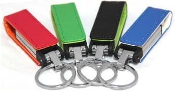 รับทำ แฟลชไดร์ฟโลหะ เคสหนังเทียม คุณภาพดี สวยงาม ราคาถูก metal flash drive