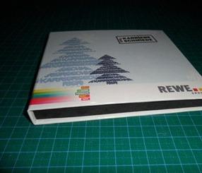 กล่องกระดาษแบน แบบกล่องซีดี 1