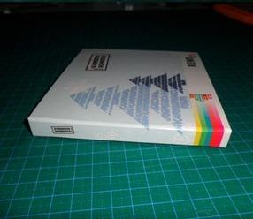 กล่องกระดาษแบน แบบกล่องซีดี 2