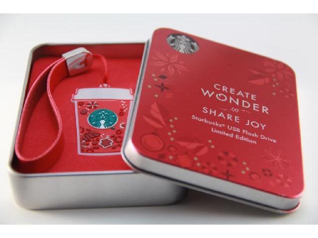 รับผลิต ตุ๊กตาพวงกุญแจ Starbucks แบบแฟลชไดร์ฟยางหยอด พร้อมกล่องสกรีนโลโก้