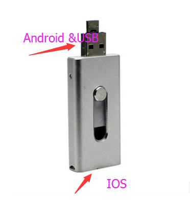 รับผลิต OTG iOS / OTG Android / Type C Port แฟลชไดร์ฟไอโฟน iPhone