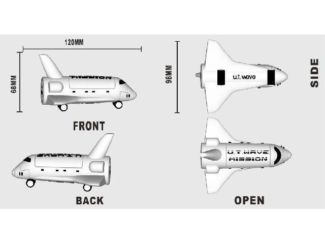 Power Bank แบบขึ้นโมล์ดใหม่ สั่งผลิตพิเศษ! รถ เรือ การขนส่ง เครื่องบิน 3