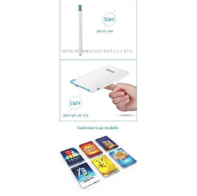PowerBank ขนาด 2600mAh สั่งทำ ราคาถูก พร้อมสกรีนโลโก้ เก๋ๆ 3
