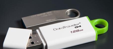 ขายส่งแฟลชไดร์ฟ DataTraveler & HyperX USB 3.1 OTG ของ Kingston 1