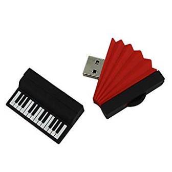 รับผลิต แฟลชไดร์ฟยาง รูปเครื่องดนตรี รับผลิต Flash Drive Rubber ขึ้นรูปแบบใหม่