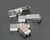 รับผลิต Flash Drive พร้อมสกรีนโลโก้ แฟลชไดร์ฟคริสตัลมีไฟราคาส่ง