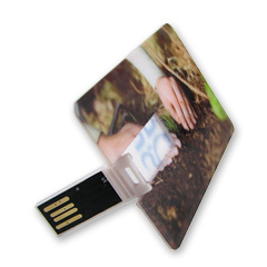 สั่งผลิต แฟลชไดร์ฟการ์ด (USB Credit Card) แฟลชไดรฟ์พรีเมี่ยม USB Flash Drive