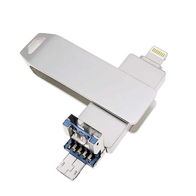 ขายส่ง ที่เก็บข้อมูลไอแพด แท้ ราคา 3in1 USB-Memory-Stick 8gb