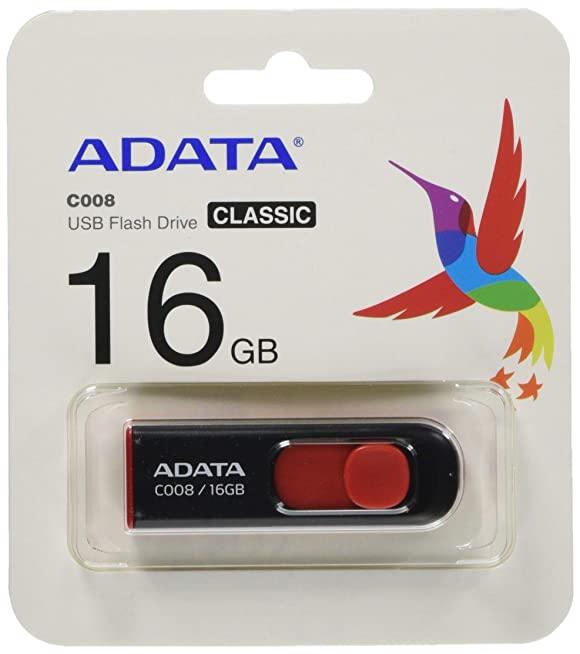 C008 Red Capless Flash-drive 16GB ขายส่งแฟลชไดร์ฟ ราคาถูก